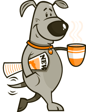 Drinking Coffee Cartoon